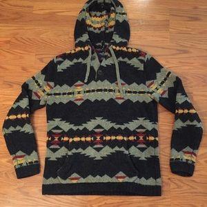 Aztec Hoodie Sweater American Eagle